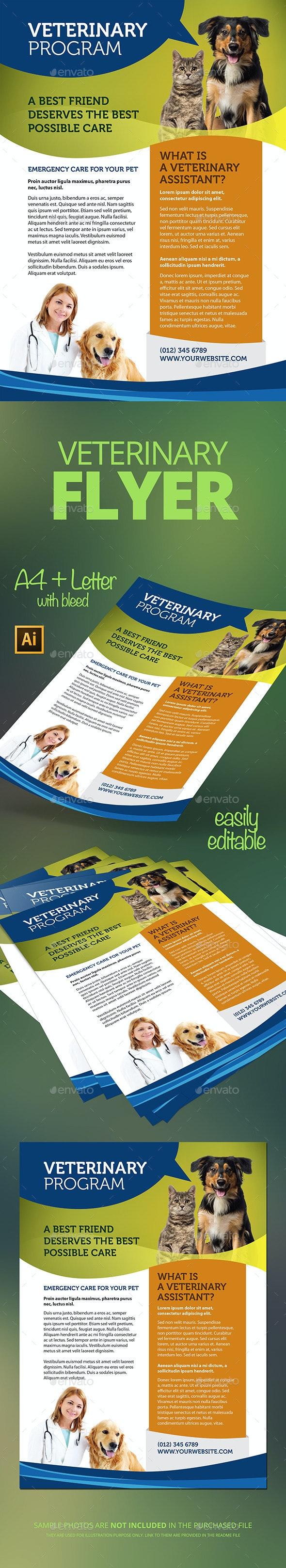 Veterinary Flyer - Flyers Print Templates