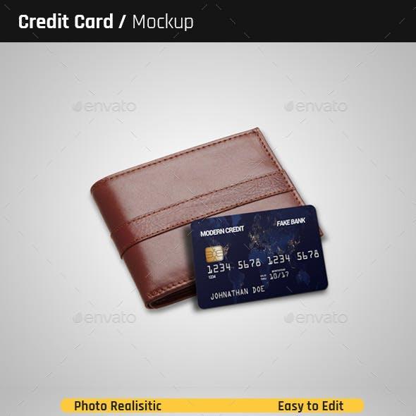 Credit Card Mock-Ups
