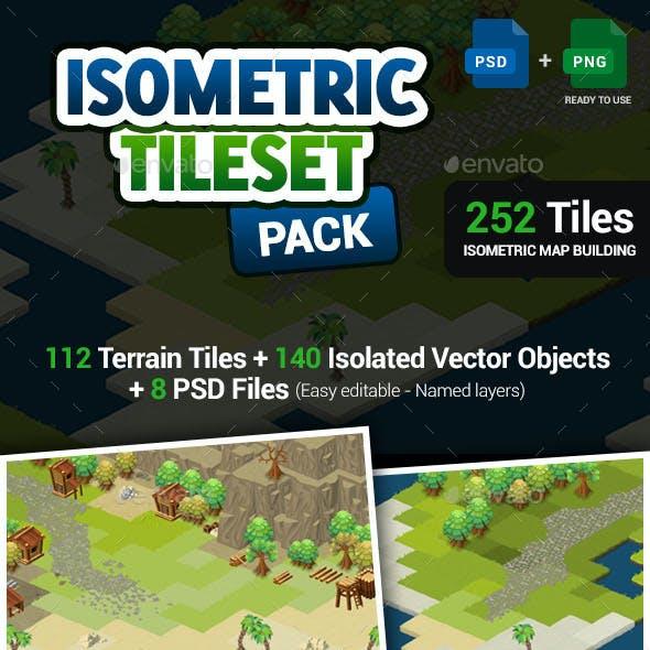 Isometric Tileset - Map Creation Pack