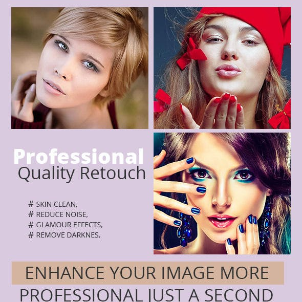 Professional Quality Retouch