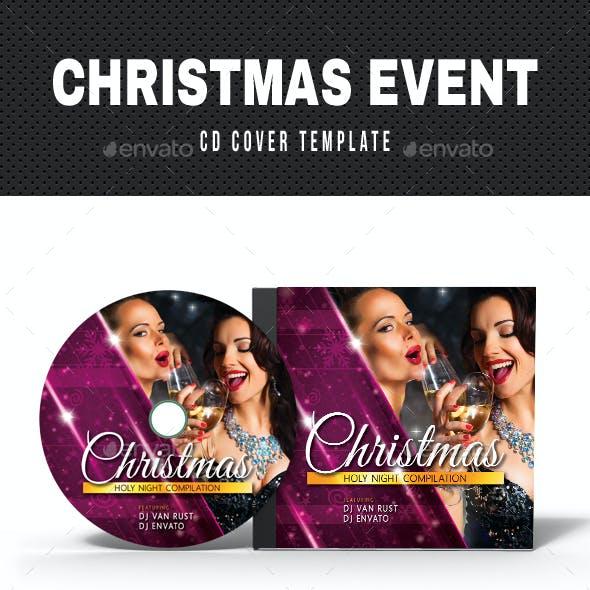 Merry Christmas CD Cover Artwork