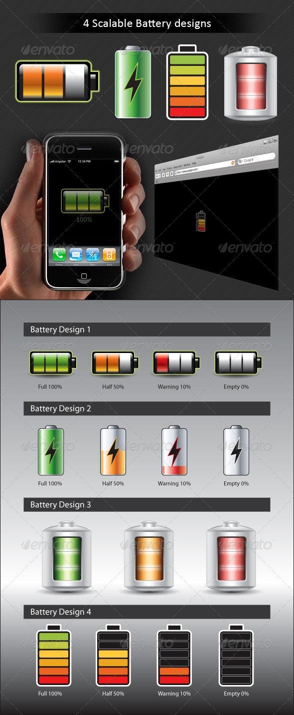 Battery Kit - Technology Conceptual