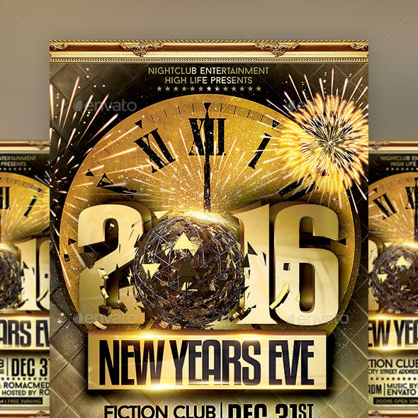 Gold NYE Party