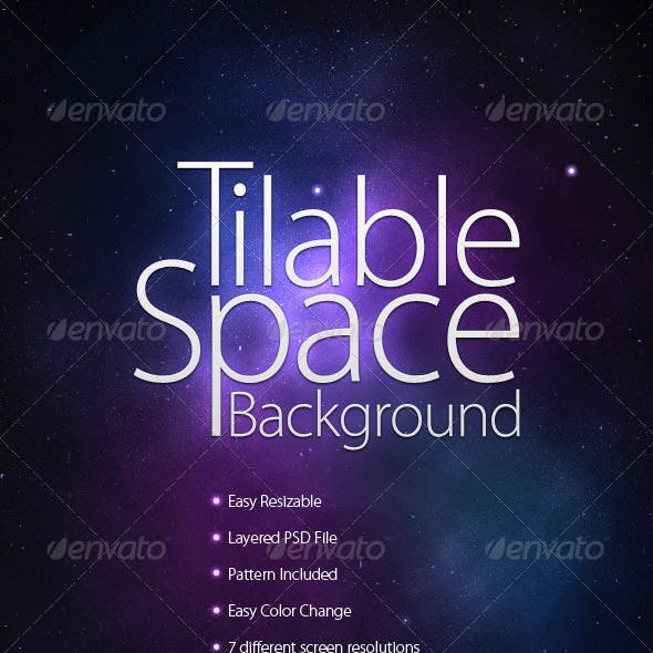 Tilable Space Background + Wallpapers