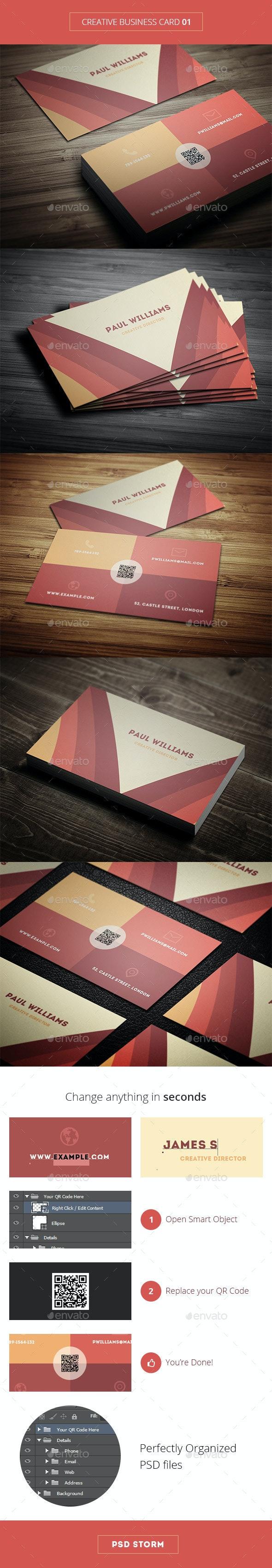 Creative Business Card 01 - Creative Business Cards