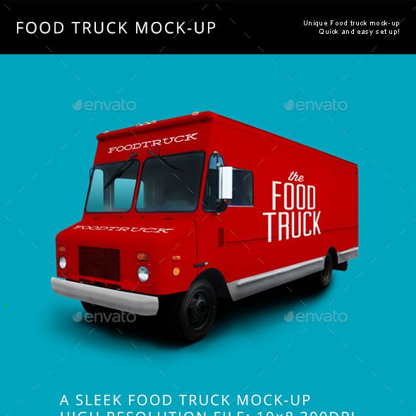 Food Truck Mock Up