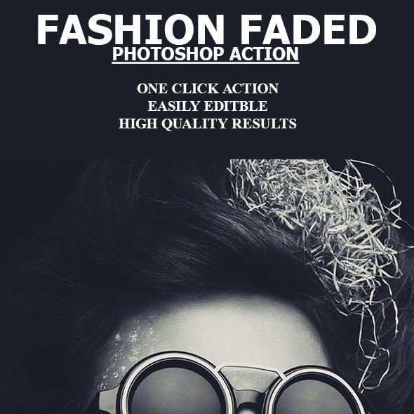 Fashion Faded Photoshop Action