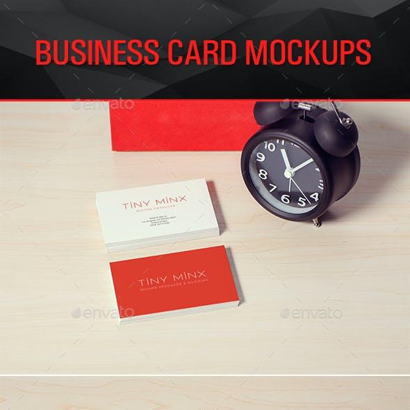 Photorealistic Business Card Mockups