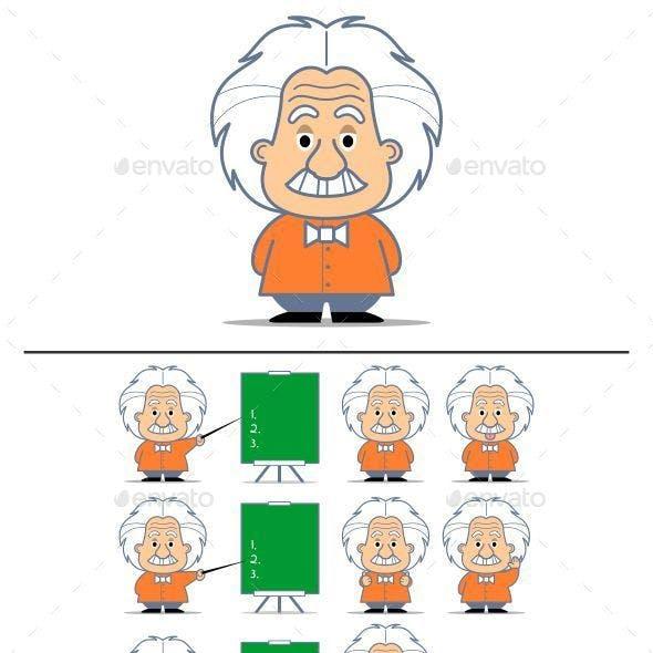 Albert Einstein Character
