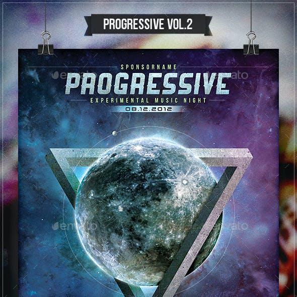 Progressive Rock Vol.2 - Flyer & Poster