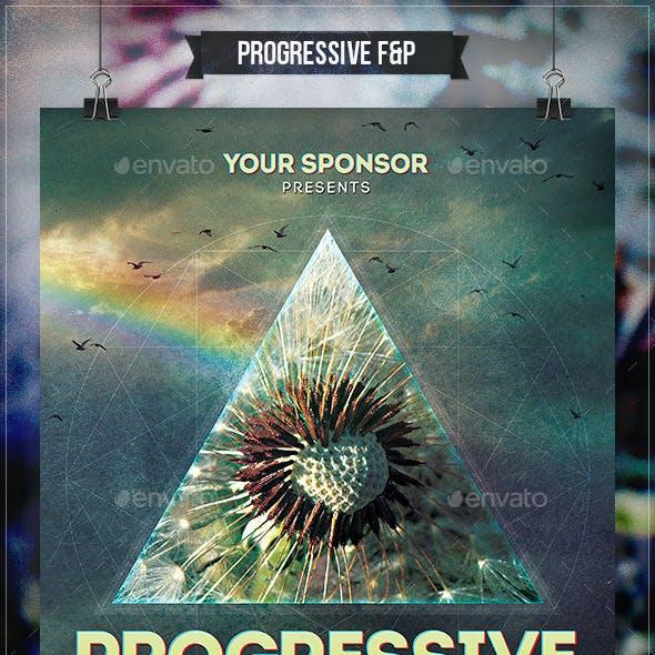 Progressive Rock Flyer & Poster