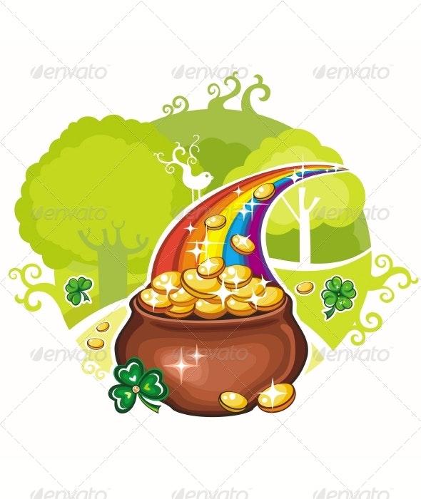 St. Patrick's Day greeting card - Seasons/Holidays Conceptual