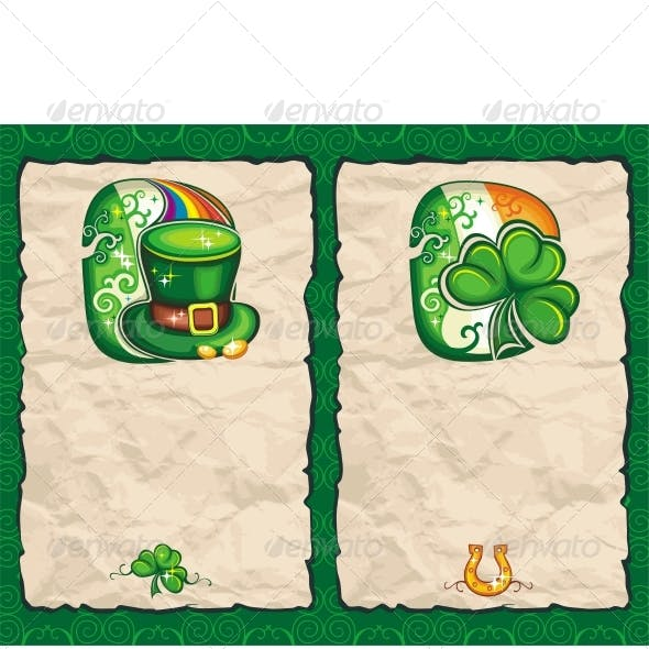 St. Patrick's Day Paper Background