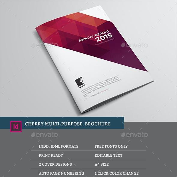 Cherry Multipurpose Brochure Template