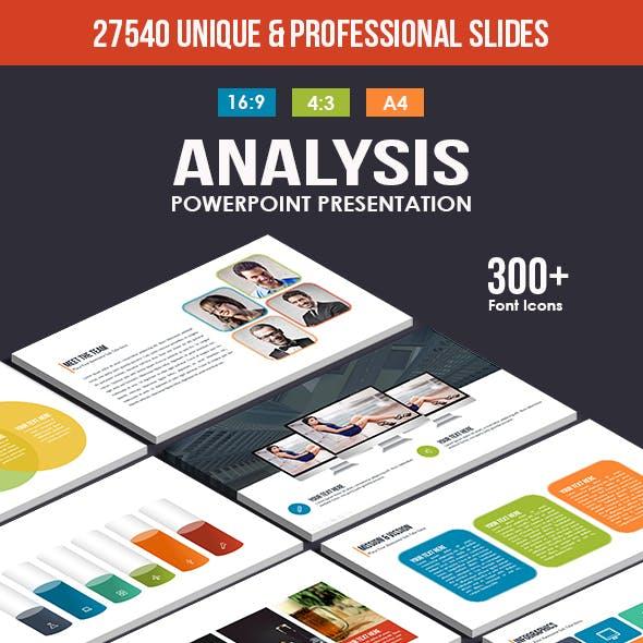 Analysis PowerPoint Template