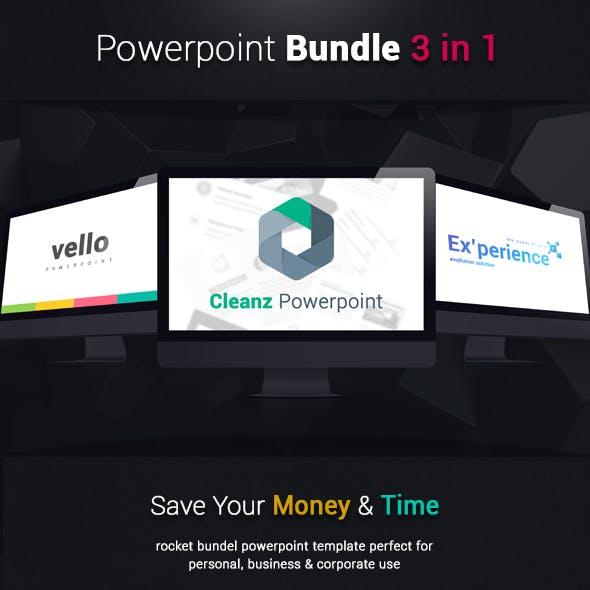 3 in 1 Powerpoint Bundle Vol.1