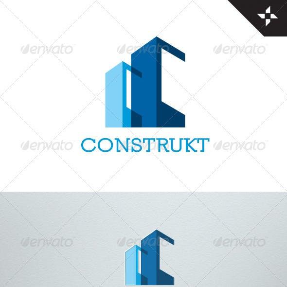 Construkt - Real Estate - Construction Logo