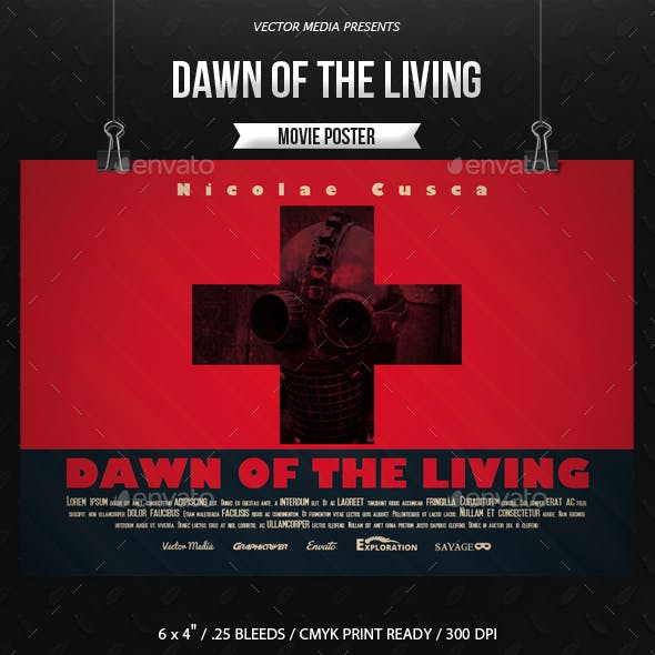 Dawn of The Living - Movie Poster