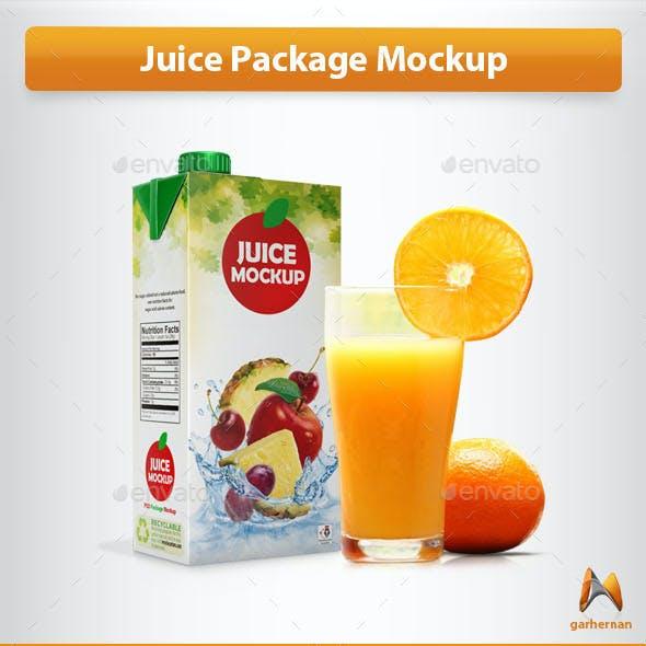 Juice Package Mockup