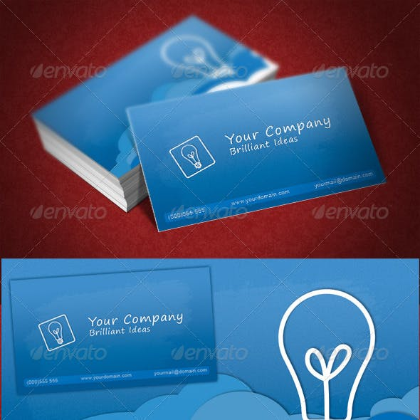 Clouds Business Card