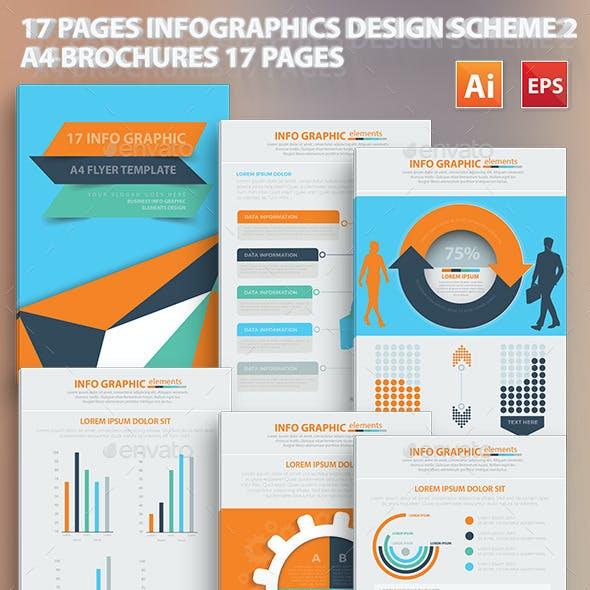 17 Pages Infographics Design Scheme 2
