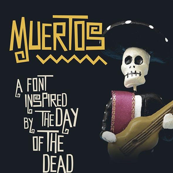 Muertos Typeface