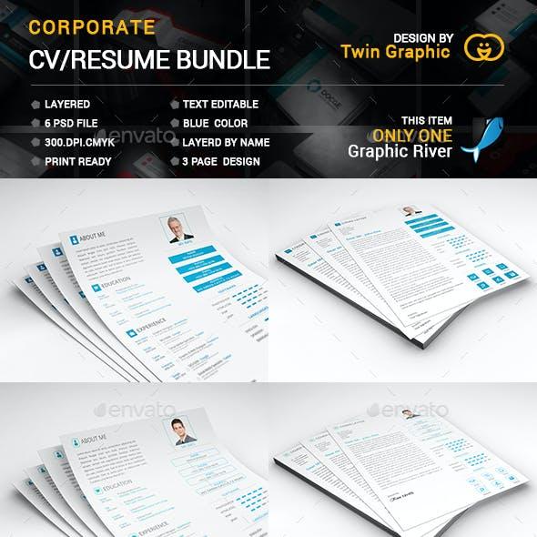 Corporate CV/RESUME Bundle.