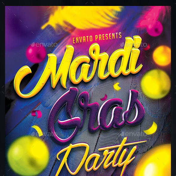 Mardi Gras Carnival Party