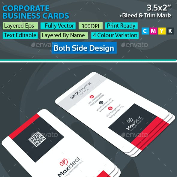 Maxideal Corporate Business Cards