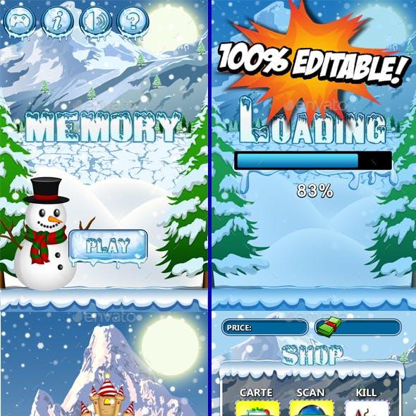 Christmas Memory Game Kit