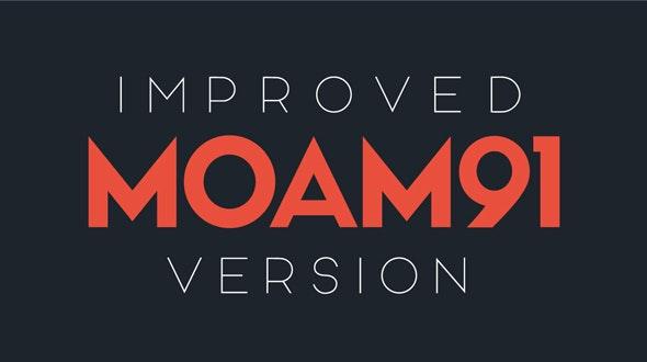 MOAM91 - Sans-Serif Fonts