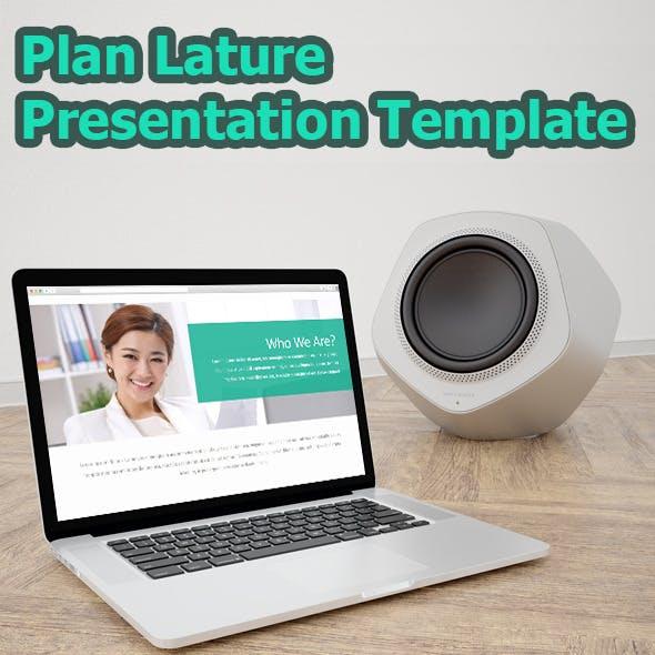 Plan Lature Bussiness Presentation Template