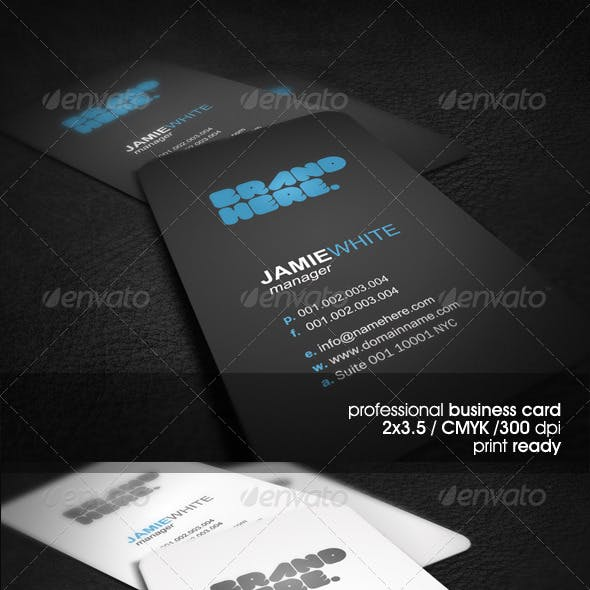 Simple&Clean Business Card