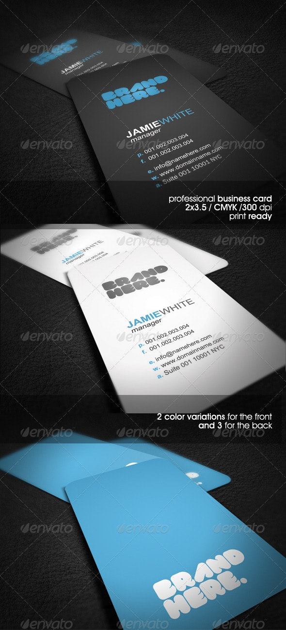 Simple&Clean Business Card - Creative Business Cards