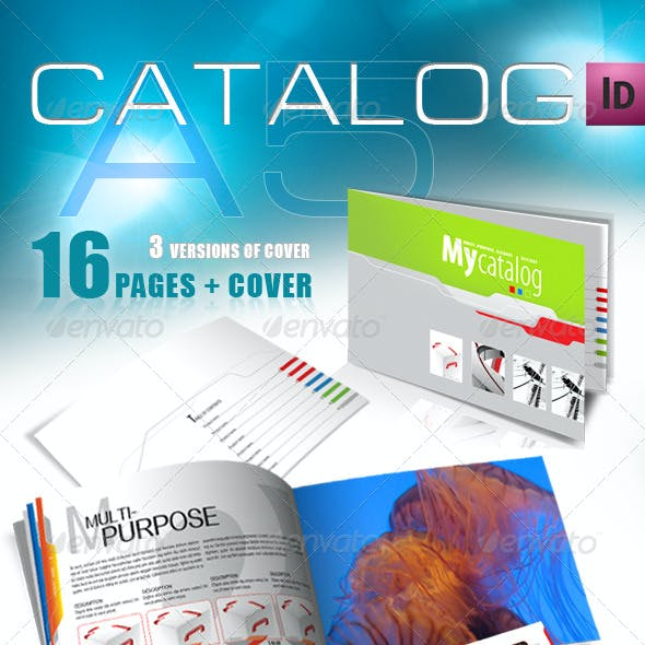 A5 Catalog for Multiple Purposes