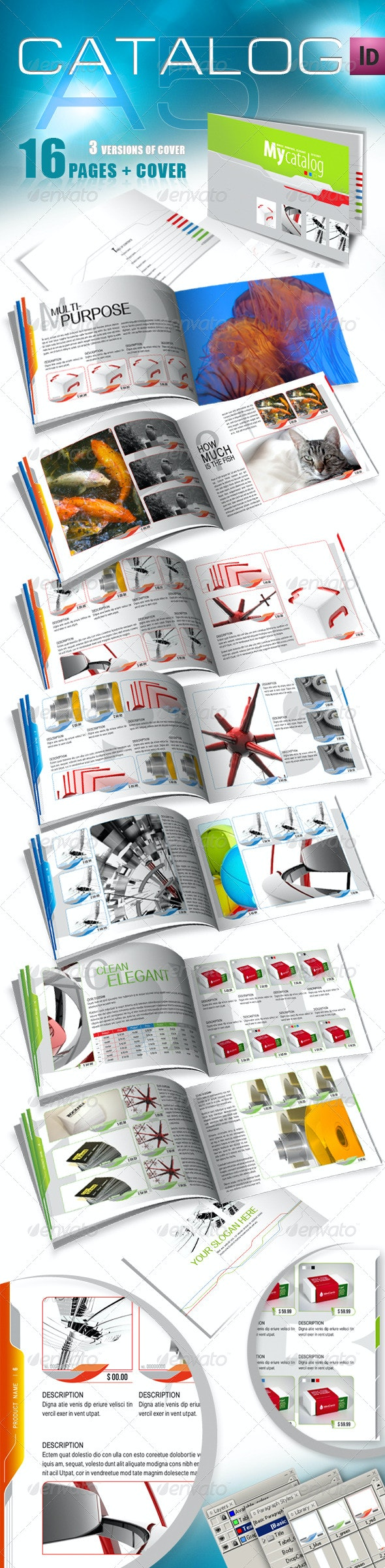 A5 Catalog for Multiple Purposes - Catalogs Brochures