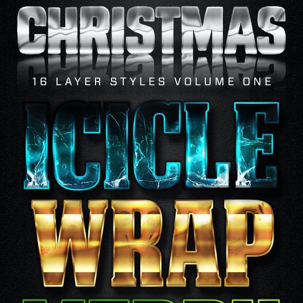 16 Christmas Styles Version 1