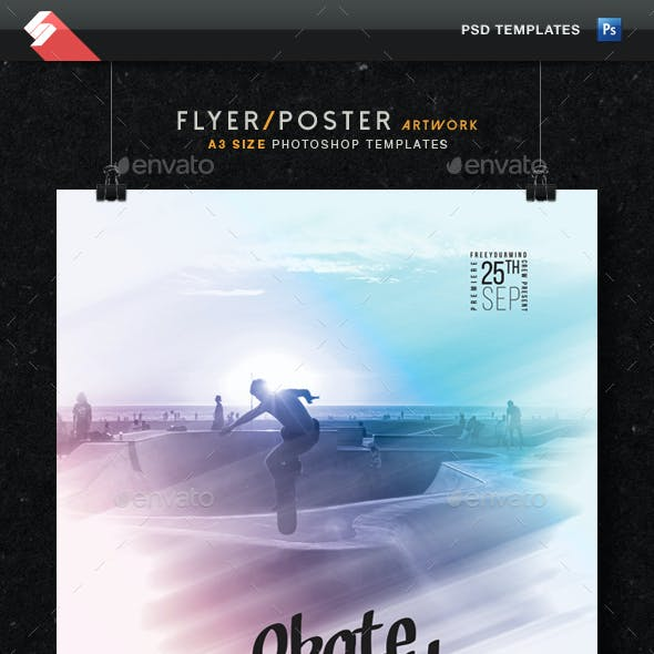 Active Life - Movie, Event Flyer Template A3
