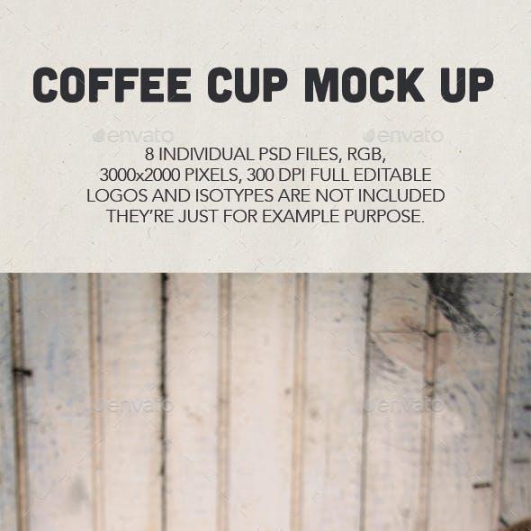 Coffee Cup Logo Mock Ups