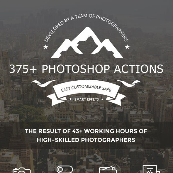 375+ Photoshop Actions