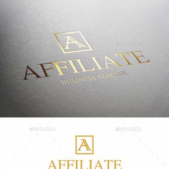 Affiliate A Letter Logo