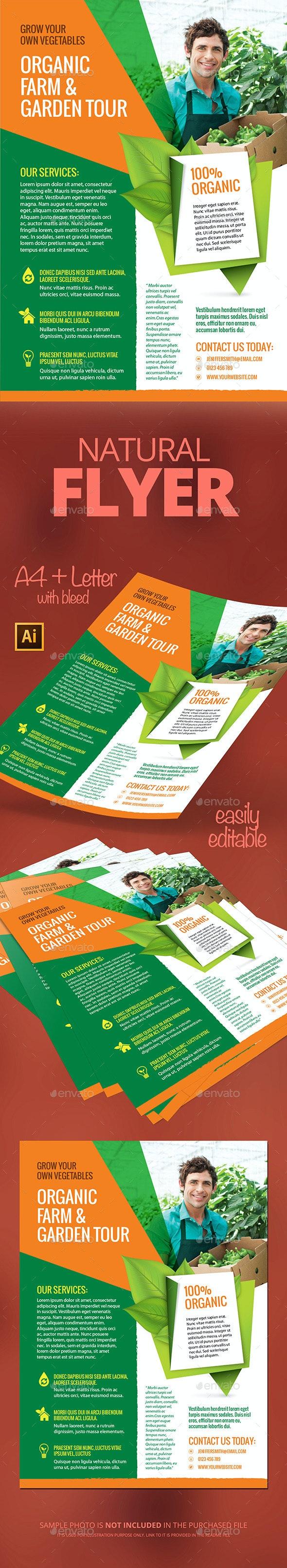 Natural Flyer  - Flyers Print Templates