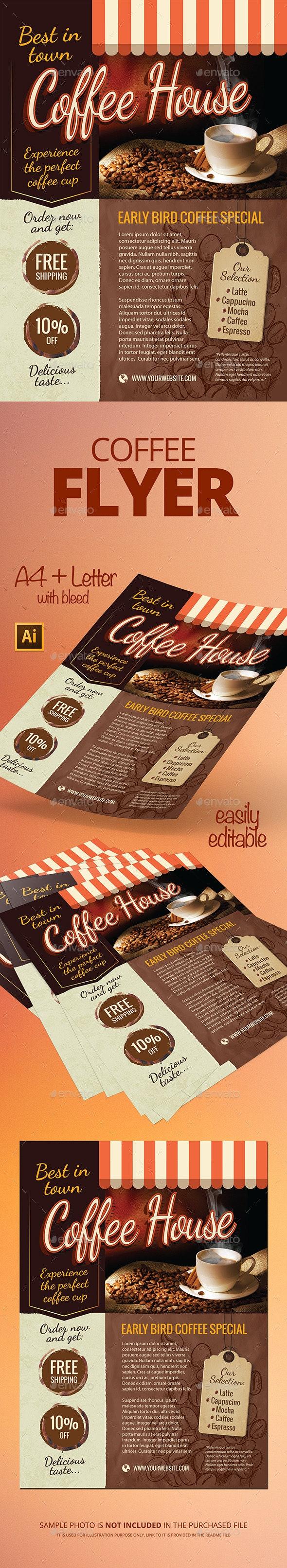 Coffee Flyer - Restaurant Flyers