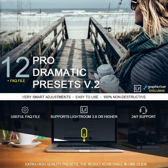 12 Pro Dramatic Presets vol.2