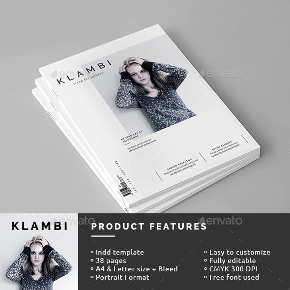 Female Magazine Template