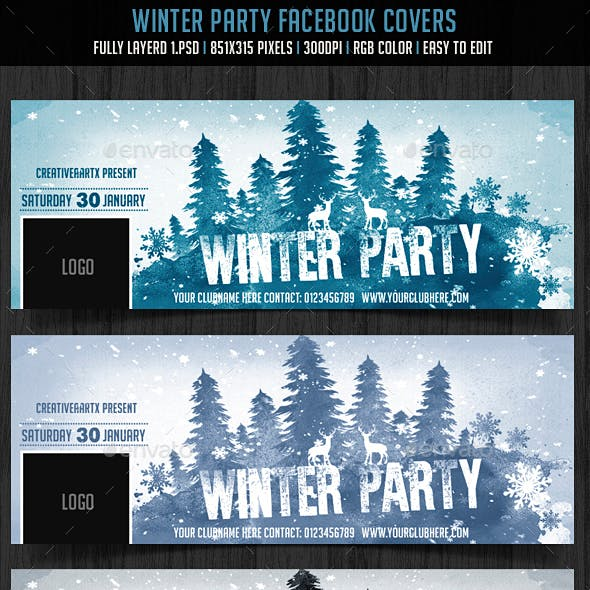 Winter Party FB Cover