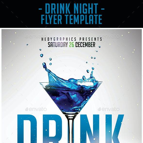 Drink Night - Flyer Template