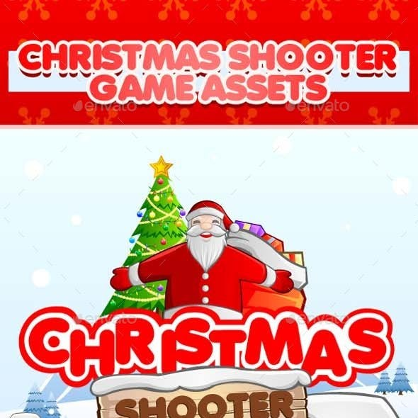 Christmas Shooter Game Assets