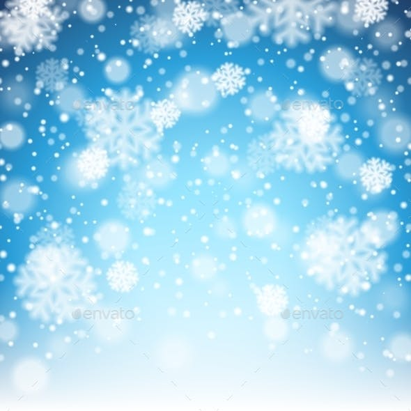 Winter Snow Background