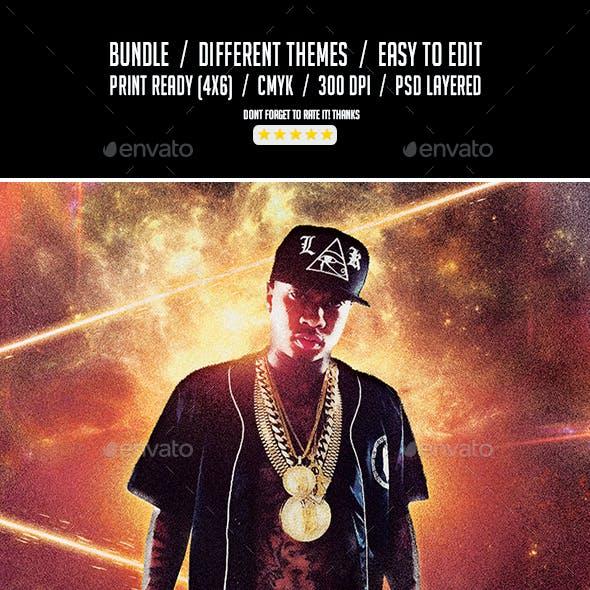 Bando Bundle | 3 Urban Hip-Hop Flyer Templates